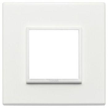Rama 2M aluminium total white vimar Eikon EVO 21642-17