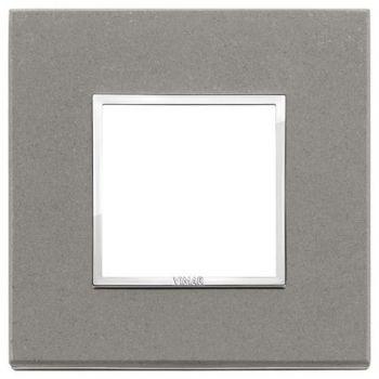 Rama 2M stone grey quartzite vimar Eikon EVO 21642-53