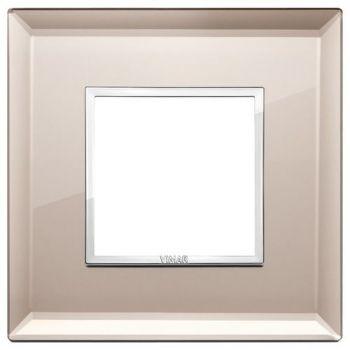 Rama 2M crystal bronze mirror vimar Eikon EVO 21642-75