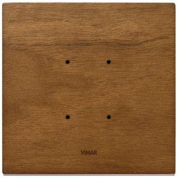 Rama 2M wood Italian walnut vimar Eikon TACTIL 21662-31