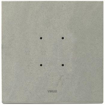 Rama 2M stone grey quartzite vimar Eikon TACTIL 21662-53