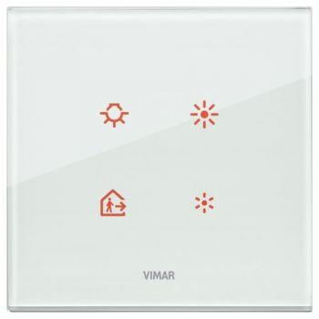 Rama 2M crystal aqua vimar Eikon TACTIL 21662-71