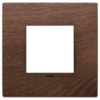 Rama 2M wood American walnut vimar Eikon EXE 22642-32