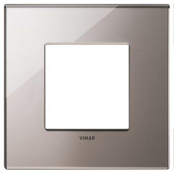 Rama 2M mirror glass shiny bronze vimar Eikon EXE 22642-76