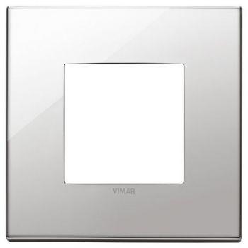 Rama 2M metal nickel vimar Eikon EXE 22642-81