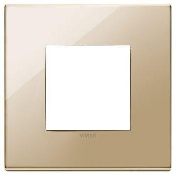 Rama 2M metal gold vimar Eikon EXE 22642-82