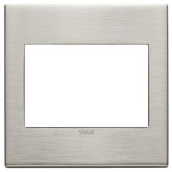 Rama 3M BS metal brushed nickel vimar Eikon EXE 22648-11