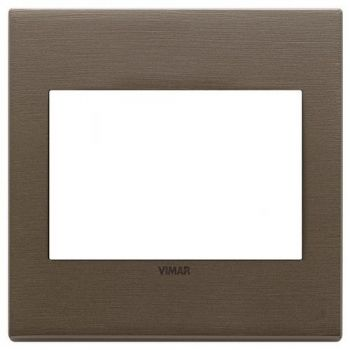 Rama 3M BS metal brushed dark bronze vimar Eikon EXE 22648-12