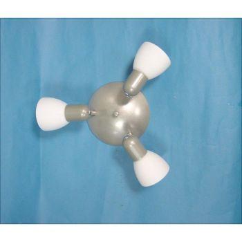 Spoturi iluminat Nv-Dl-3 Silber-Nickel-M-Opal-Matt O-Traf Eglo 26205
