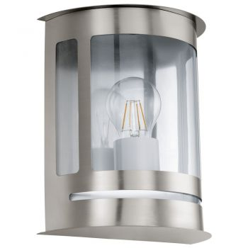 Corpuri de iluminat exterior Aplica 1 Bec E27 Inox-Clar 'Daril' Eglo 30173