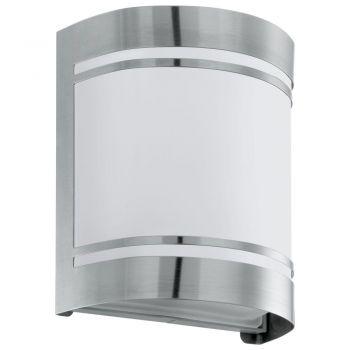 Corpuri de iluminat exterior Aplica 1 Bec E27 Inox-Satinat 'Cerno' Eglo 30191