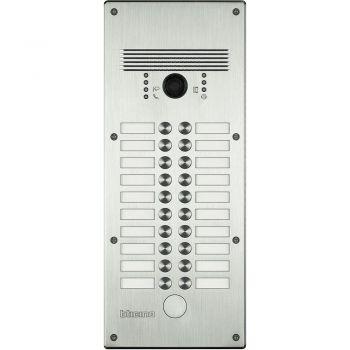 Bticino Videointerfonie 2 Fire Pulsantiera antivandalo 13-20 pb alluminio 308004