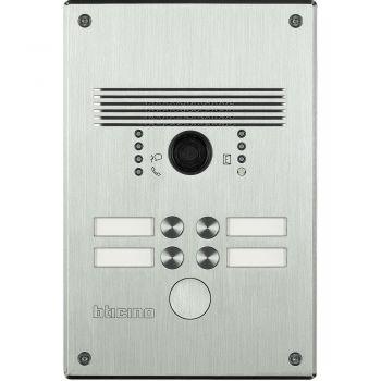 Bticino Videointerfonie 2 Fire Pulsantiera antivandalo 1-4 pb inox 308011