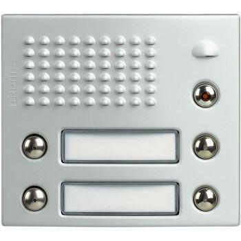 Bticino Videointerfonie 2 Fire FRONTALE CON 2 DOPPI PULSX MODPORTER ALL 332341