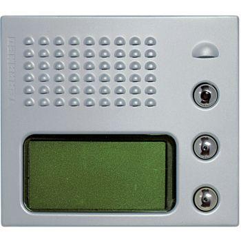 Bticino Videointerfonie 2 Fire SferaPlaca Tast Ecran Metal 332661