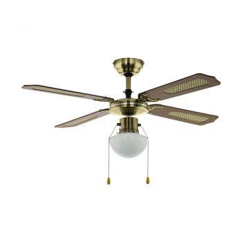 Corpuri de iluminat cu ventilator Dl-Ventilator Ac E27 Bruniert-Holz Eglo 35039