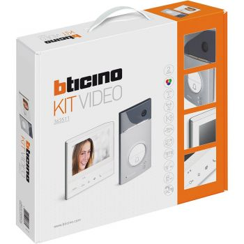 Bticino Kit Videointerfonie 2 Fire Kit Classe 300 V13E  Linea 3000 363511