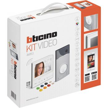 Bticino Kit Videointerfonie 2 Fire Kit Classe 300 x13E  Linea 3000 badge 363911