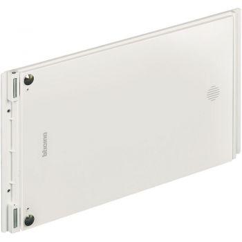 Bticino Flatwall Centralino DIN h 30 cm in lamiera (prevedere l utilizzo di falsi polo bianchi art F215FP- per la chiusura di eventuali vani liberi interni) 3798