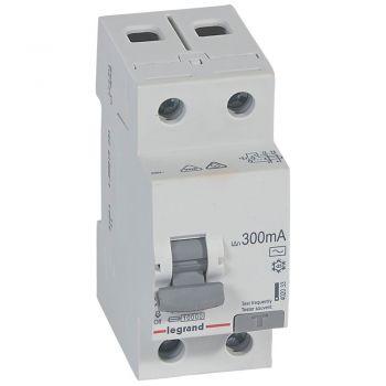 Siguranta Diferentiala Rx3 Id 2P 40A Ac 300Ma Legrand 402033