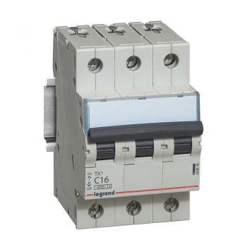 Siguranta Automata 6-10Ka Tx3 3P C16 6000A Legrand 403616