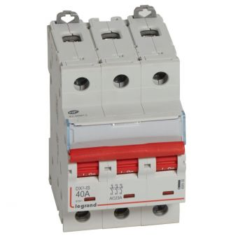 Separator Modular Dx3 Is A Declench-3P 40A Legrand 406535