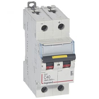 Siguranta Automata Dx3 Dc 2P C40 16Ka Legrand 409572
