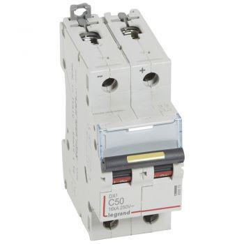 Siguranta Automata Dx3 Dc 2P C50 16Ka Legrand 409573