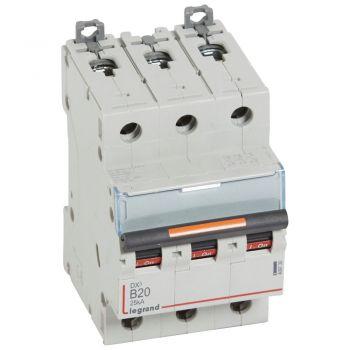 Siguranta Automata 25-36-50Ka Dx3 3P B20 25Ka Legrand 409730