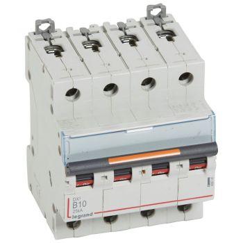 Siguranta Automata 25-36-50Ka Dx3 4P B10 25Ka Legrand 409741