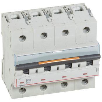 Siguranta Automata 25-36-50Ka Dx3 4P B63 25Ka Legrand 409748