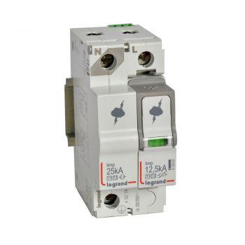 Descarcator Tensiune Spd T1-Plus-T2 12 5Ka 1P-Plus-N Nl -Plus-Sd Legrand 412274