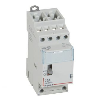 Contactor Cx3 Ct 24V 4F 25A Manette Legrand 412517