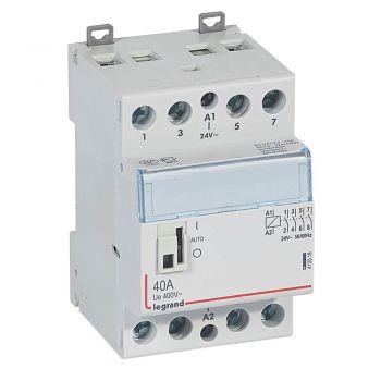 Contactor Cx3 Ct 24V 4F 40A Manette Legrand 412518