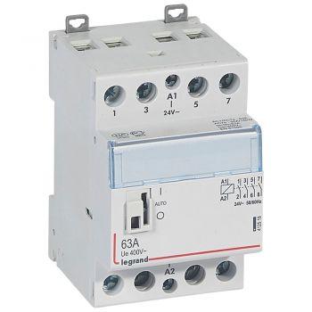 Contactor Cx3 Ct 24V 4F 63A Manette Legrand 412519