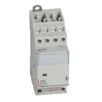 Contactor Cx3 Ct 230V 2O-Plus-2F 25A Legrand 412533