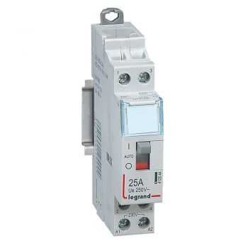 Contactor Cx3 Ct 230V 2F 25A Manette Legrand 412544