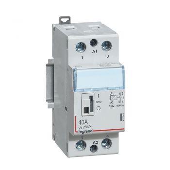 Contactor Cx3 Ct 230V 2F 40A Manette Legrand 412545