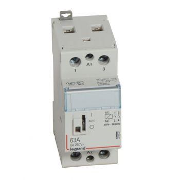 Contactor Cx3 Ct 230V 2F 63A Manette Legrand 412547