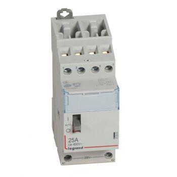 Contactor Cx3 Ct 230V 4F 25A Manette Legrand 412551