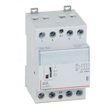 Contactor Cx3 Ct 230V 4F 40A Manette Legrand 412553