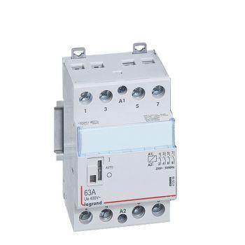 Contactor Cx3 Ct 230V 4F 63A Manette Legrand 412556