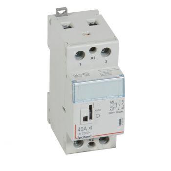 Contactor Cx3 Ct 230V 2F 40A Silencieux Legrand 412559