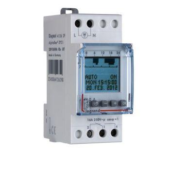 Ceas Programator Timer Modular Int-Hor Dig 1S Annuel 230V Legrand 412629