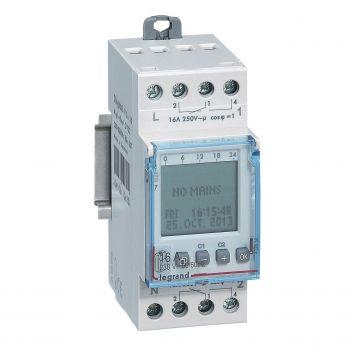Ceas Programator Timer Modular Ih Digital Annuel 2S Legrand 412630