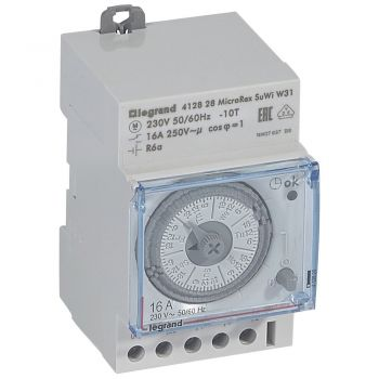 Ceas Programator Timer Modular Ih Analogique H 3 Mod Legrand 412828