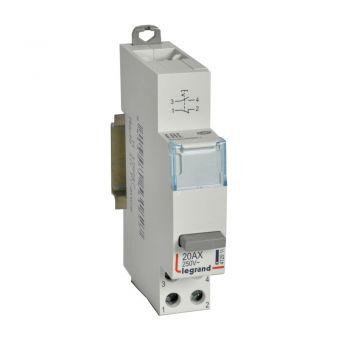 Intrerupator Cx3 Switch 1No-Plus-Nf 20Ax Legrand 412911