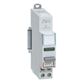 Intrerupator Cx3 Switch 1No-Plus-Green 12-48V Legrand 412912