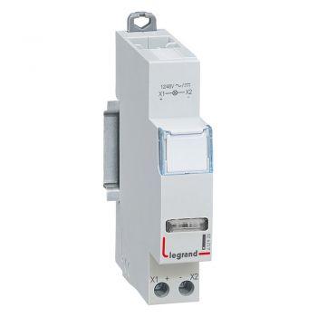 Lampa Prezenta Tensiune Cx3 Ind-Blanc 12-48V Ac-Dc Legrand 412925