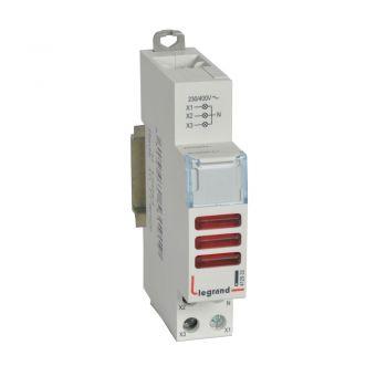 Lampa Prezenta Tensiune Cx3 Ind-3 Red 230-400V Legrand 412933